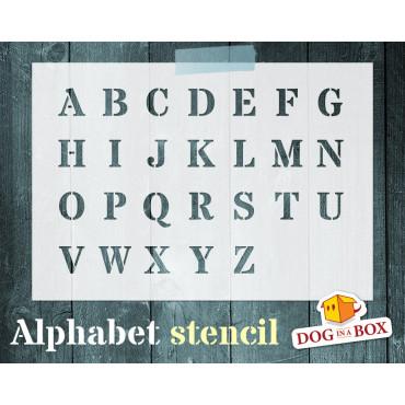 Alphabet stencil n.4 -...