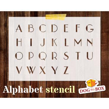 Alphabet stencil n.6 -...