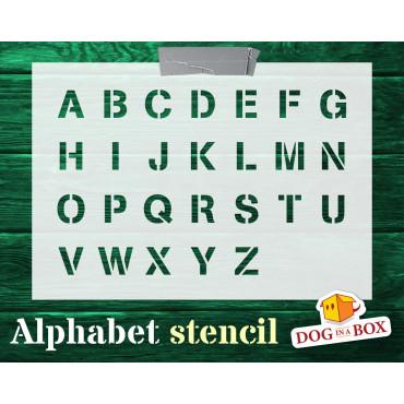 Alphabet stencil n.7 -...