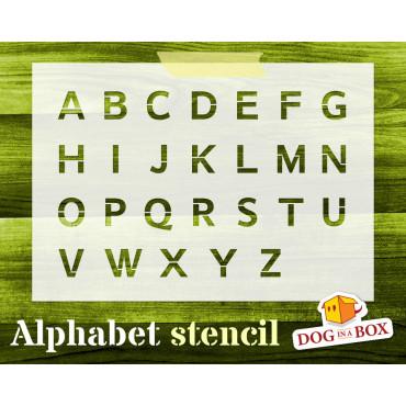Alphabet stencil n.8 -...