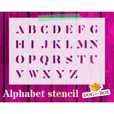 Alphabet stencil n.9 -...