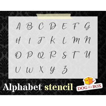 Alphabet stencil n.10 -...