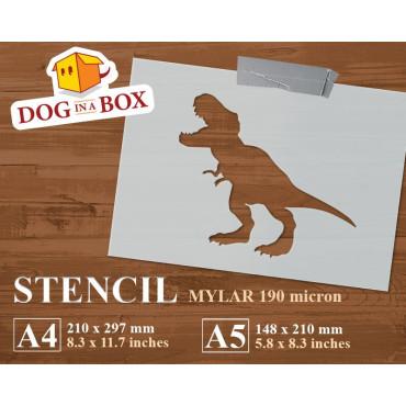 Dinosaur stencil n.1 -...