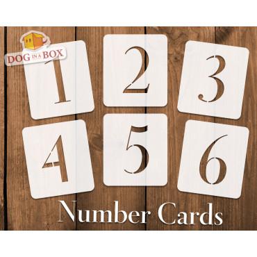 Numbers stencils n.14 -...