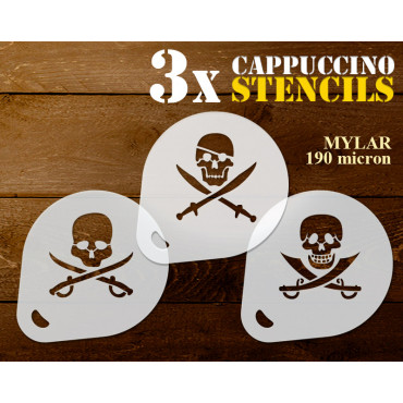 Pirate stencils n.3 (set of...