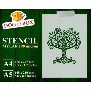 Celtic tree of Life stencil...