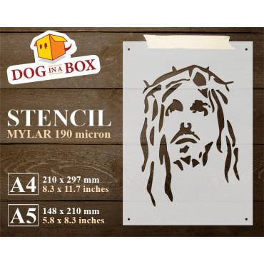 Jesus stencil n.3 -...