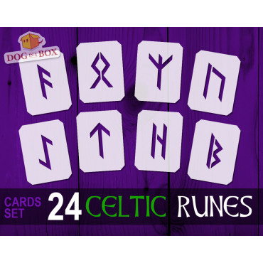 Runes stencils cards n.2-...