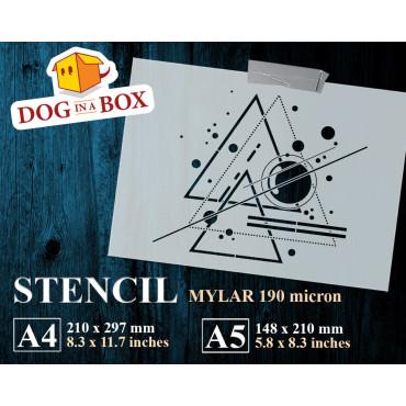 Sacred geometry stencil n.6...
