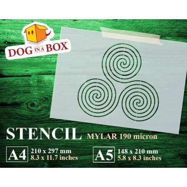 Sacred geometry stencil n.7...