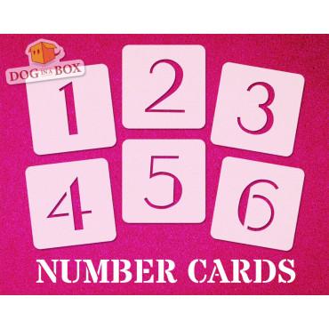 Numbers stencils n.6 -...