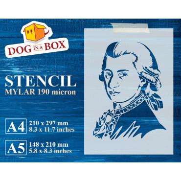 Mozart stencil - Reusable...