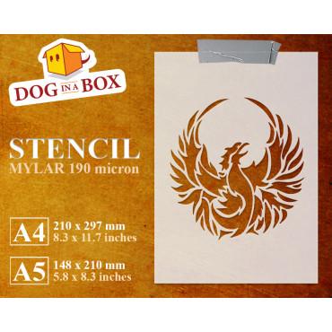 Phoenix stencil n.3 -...