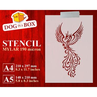 Phoenix stencil n.4 -...