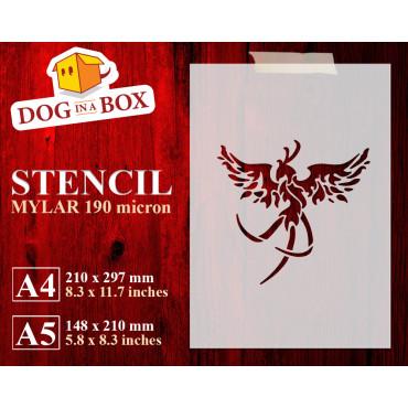 Phoenix stencil n.1 -...