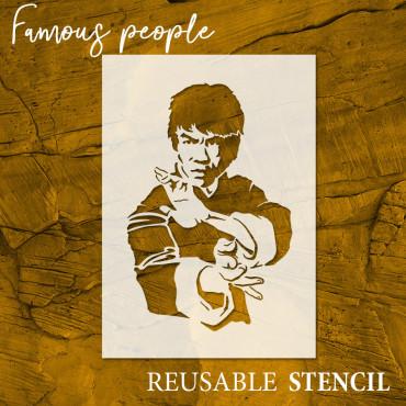 Bruce Lee stencil n.2 -...