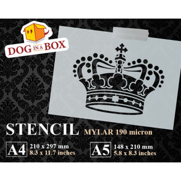 Crown stencil n.4 -...