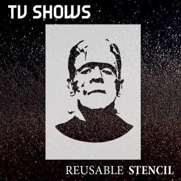 Frankenstein stencil -...