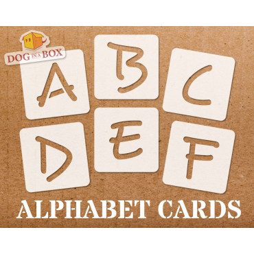 Alphabet stencils font n.2...