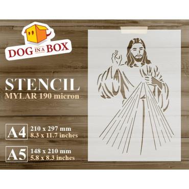 Divine Mercy stencil -...