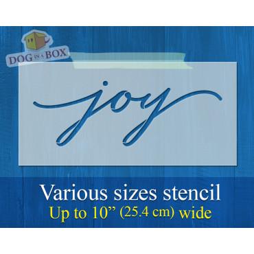 Joy stencil - Reusable...