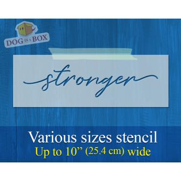 Stronger stencil - Reusable...