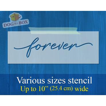 Forever stencil - Reusable...