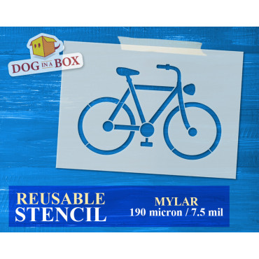 Bicycle stencil n.2 -...