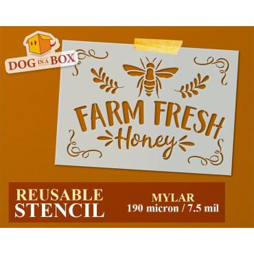 Farm Fresh Honey stencil...