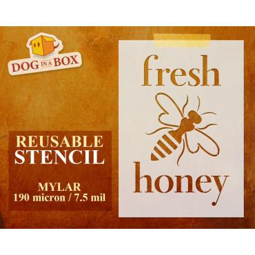 Fresh Honey stencil n.1 -...