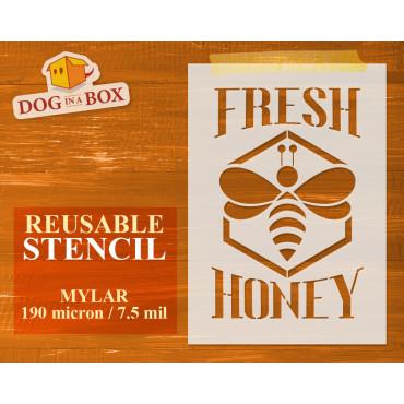 Fresh Honey stencil n.2 -...