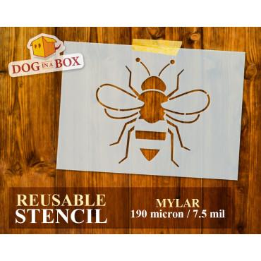 Bee stencil n.2 - Reusable...