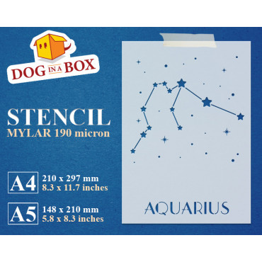 Aquarius constellation...