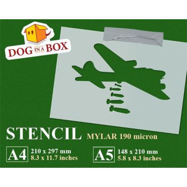 Aircraft bomber stencil n.1...