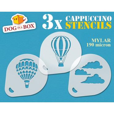 Hot Air Balloons stencils...