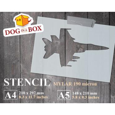 Aircraft stencil n.1 -...
