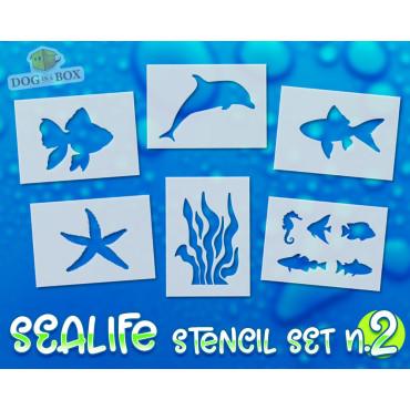 Sealife stencils set n.2 -...