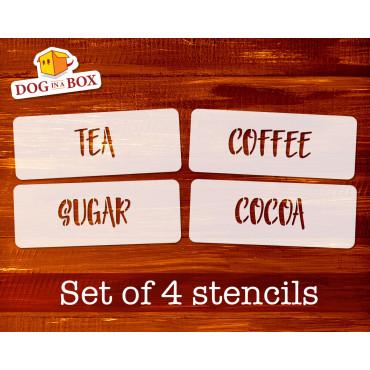 Tea, Coffee, Sugar, Cocoa...