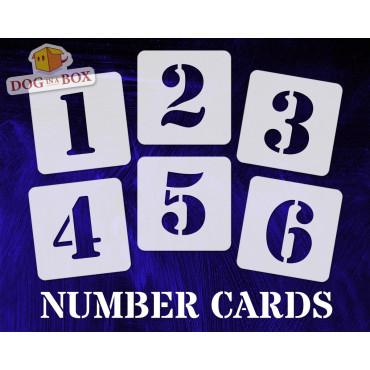 Numbers stencils n.5 -...