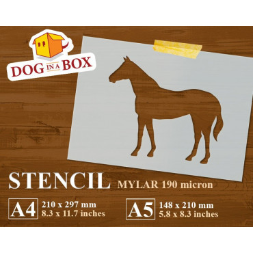 Horse stencil n.1 -...