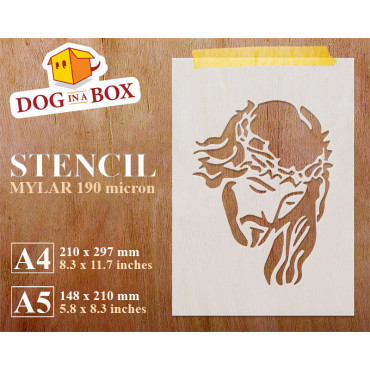 Jesus stencil - Reusable...