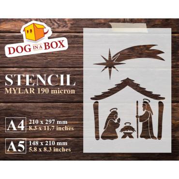 Nativity stencil Set n.1 -...