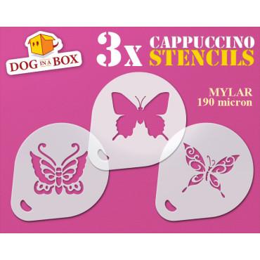 Butterfly stencil (set of...