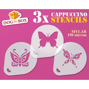 Butterfly stencil (set of...