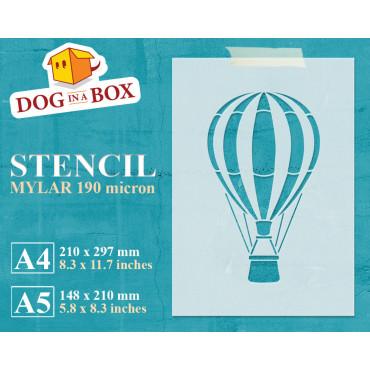 Hot air balloon stencil n.2...