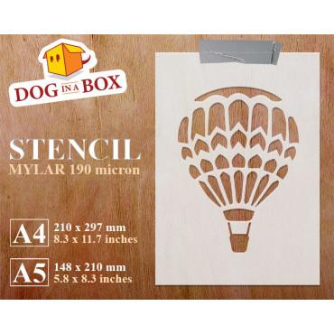 Hot air balloon stencil n.1...