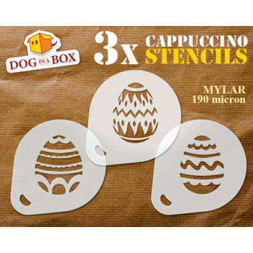Easter Eggs stencil (set of...