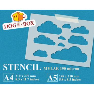 Clouds stencil n.2 -...