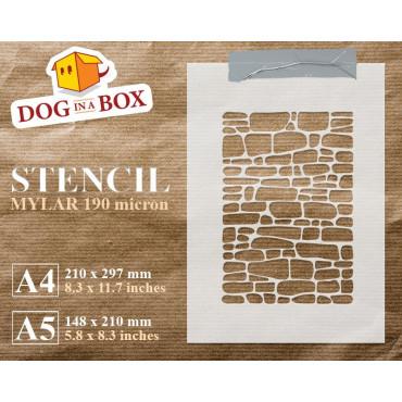 Bricks stencil n.1-...