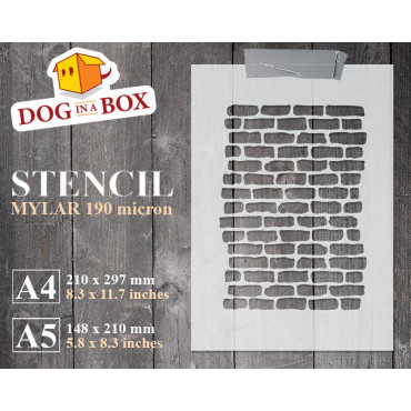 Bricks stencil n.2 -...